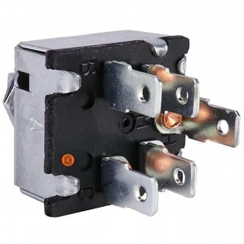 Case Wheel Loader Blower Switch, w/ Resistors-Air Conditioner