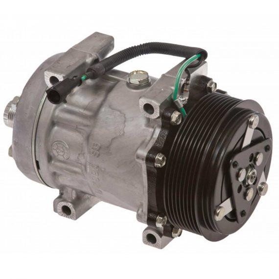 case-wheel-loader-genuine-sanden-sdhhd-compressor-with-groove-clutch-air-conditioner