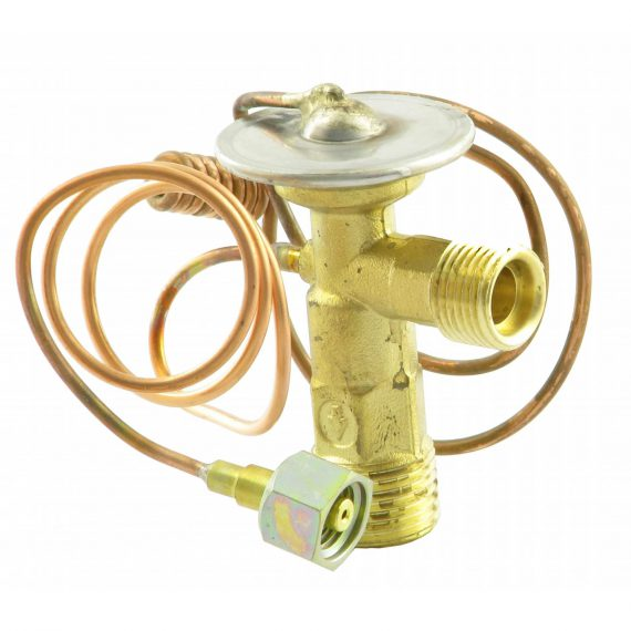 Caterpillar Loader Backhoe Expansion Valve, Right Angle, Externally Equalized - Air Conditioner