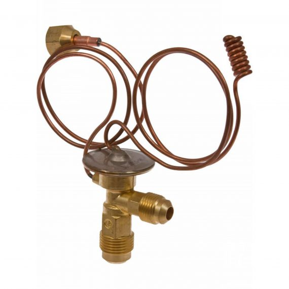 Caterpillar Track Loader Expansion Valve, Right Angle, Externally Equalized - Air Conditioner