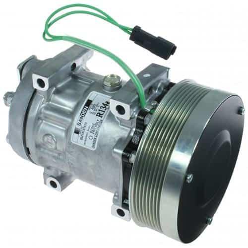 caterpillar-track-loader-genuine-sanden-sdhshd-compressor-w-groove-clutch-air-conditioner