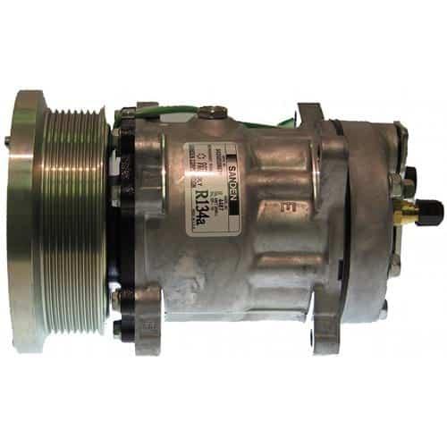 caterpillar-wheel-loader-genuine-sanden-sdhhd-compressor-w-groove-clutch-air-conditioner