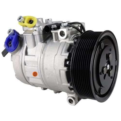 Claas Combine Genuine Nippondenso 7SBU16C Compressor, w/ 9 Groove Clutch - Air Conditioner