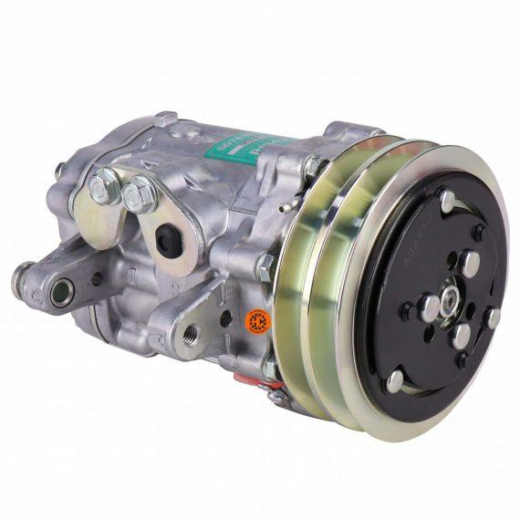 ford-tractor-loader-backhoe-genuine-sanden-sdb-compressor-w-groove-clutch-air-conditioner