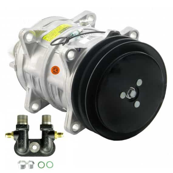hesston-fiat-tractor-genuine-seltec-tama-tm-compressor-with-groove-clutch-air-conditioner