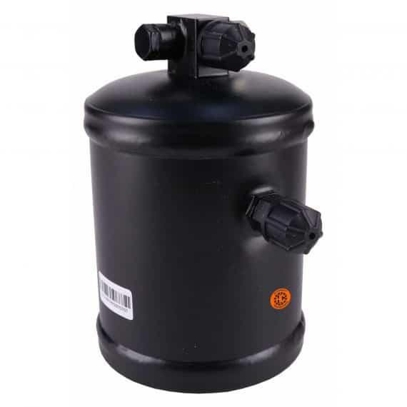 Hesston-Fiat Windrower Receiver Drier, w/ High Pressure Relief Valve - Air Conditioner