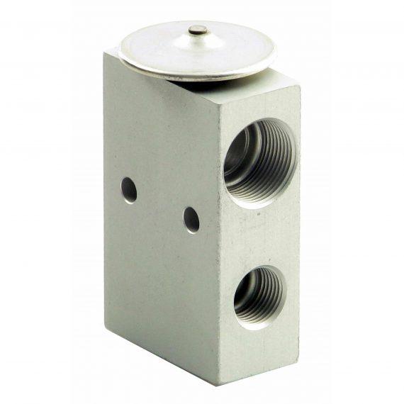 John Deere Cotton Picker Expansion Valve, Block - Air Conditioner