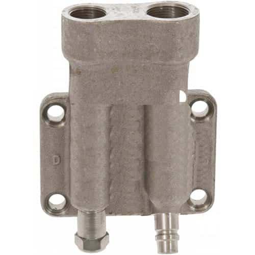 John Deere Crawler/Dozer Compressor Rear Discharge Manifold, Denso 10PA17C-Air Conditioner