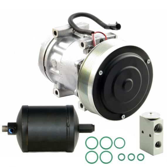Kubota Tractor Compressor, Drier & Valve Kit - Air Conditioner