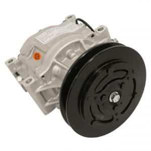 Kubota Tractor Nippondenso SCSA06C Compressor, w/ 1 Groove Clutch - Air Conditioner