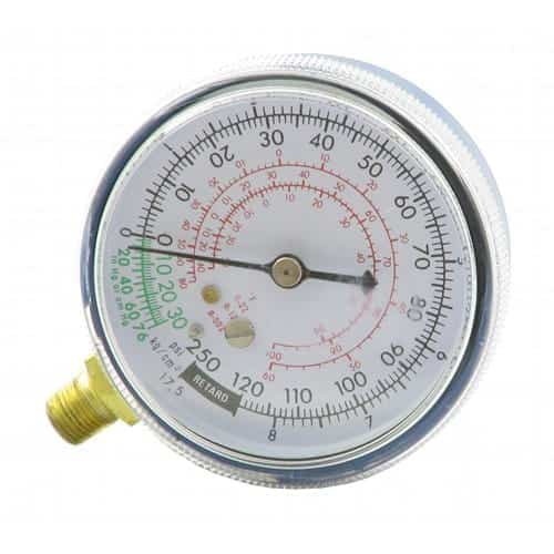 Low Side Replacement Gauge, R12, Blue-Air Conditioner