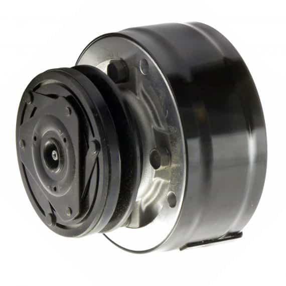Massey Ferguson Combine Delphi R4 Compressor, w/ 1 Groove Clutch - Air Conditioner