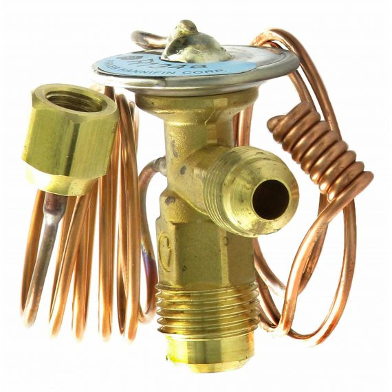 Massey Ferguson Combine Expansion Valve, Right Angle, Externally Equalized - Air Conditioner