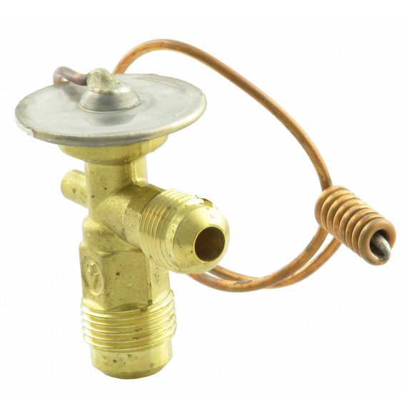 Massey Ferguson Combine Expansion Valve, Right Angle, Internally Equalized - Air Conditioner