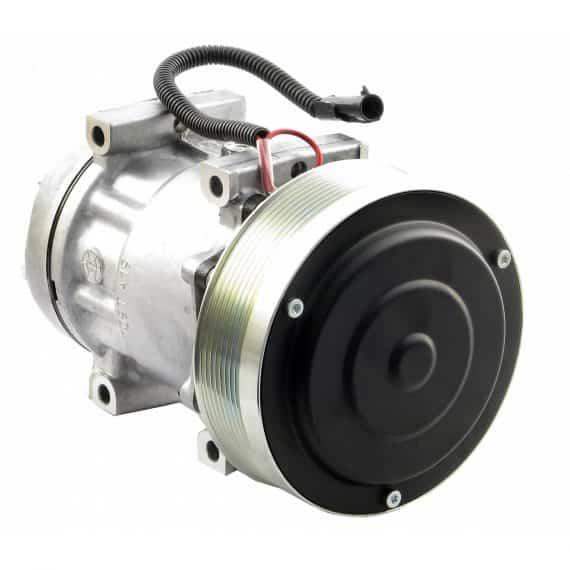 massey-ferguson-combine-sanden-sdh-compressor-w-groove-clutch-new