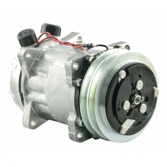 white-tractor-genuine-sanden-sdhhd-compressor-w-groove-clutch-air-conditioner