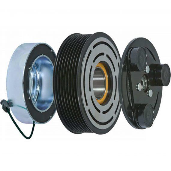 Willmar Sprayer Compressor Clutch, Seltec/Tama TM08 - TM16 Series, w/ Coil - Air Conditioner