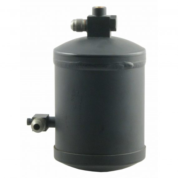 Ford Tractor Loader Backhoe Receiver Drier, w/ High Pressure Relief Valve - Air Conditioner
