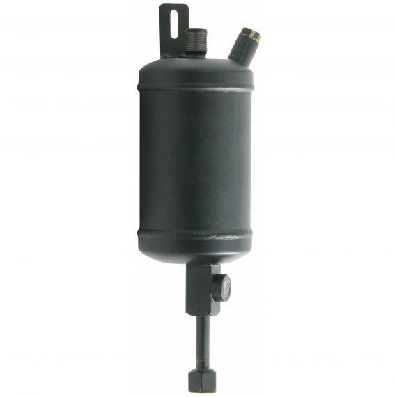Hesston-Fiat Tractor Inline Receiver Drier, w/ Female Switch Port - Air Conditioner
