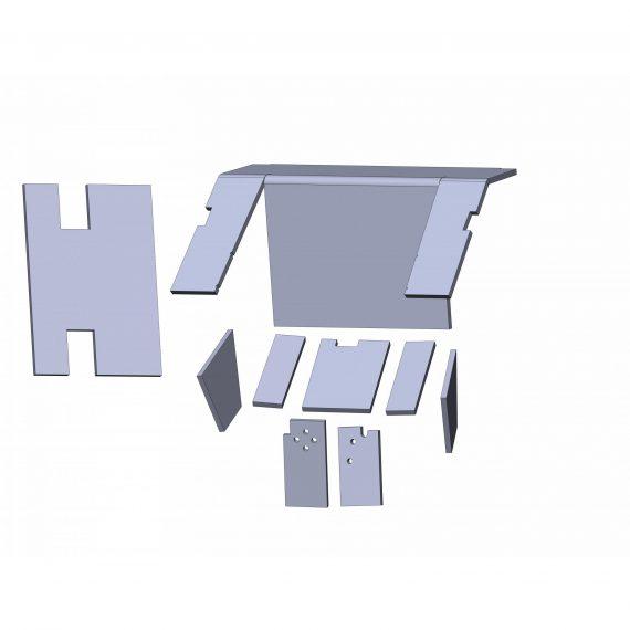 International Tractor Cab Kit, Western Design Vinyl – Air Conditioner