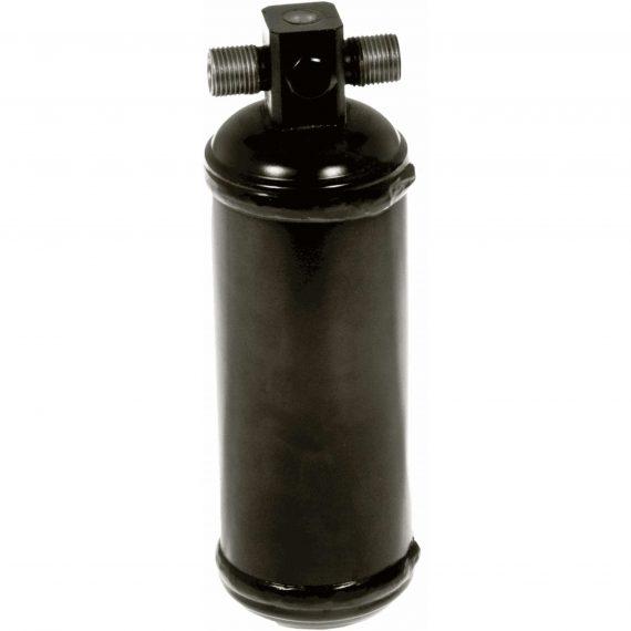 JCB Wheel Loader Receiver Drier, w/ Female Switch Port - Air Conditioner