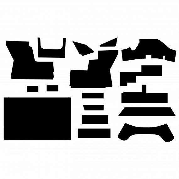 John Deere Tractor Cab Kit, Black Vinyl – Air Conditioner