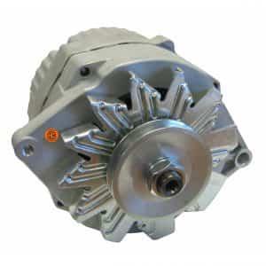 Case Power Unit Alternator – New, 12V, 63A, 10SI, Aftermarket Delco Remy – 89017781
