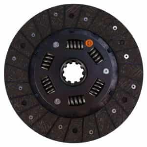 Case Tractor 9″ Transmission Disc, Woven, w/ 1-3/8″ 10 Spline Hub – New – FNA50ASPG