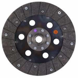 Ford Tractor 10″ Transmission Disc, Woven, w/ 1″ 15 Spline Hub – New – FND50B