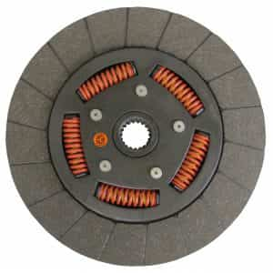 John Deere Tractor 11″ Transmission Disc, Woven, w/ 1-1/4″ 19 Spline Hub – New – HR29613