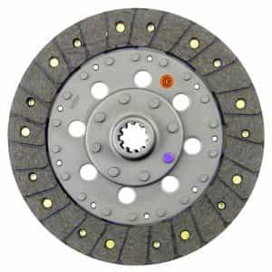 Kioti Tractor 8-1/2″ Transmission Disc, Woven, w/ 1″ 10 Spline Hub – New – K66419-13400