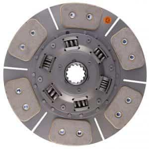 Kubota Tractor 11-3/4″ Transmission Disc, 6 Pad, w/ 1-9/16″ 14 Spline Hub – New – K3A152-25130