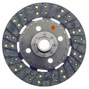 Kubota Tractor 10-1/4″ Transmission Disc, Woven, w/ 1-3/8″ 19 Spline Hub – New