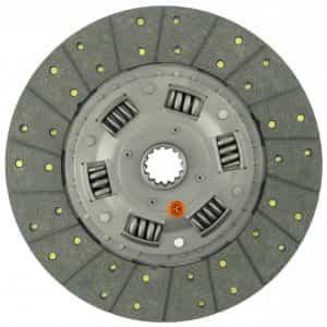 Kubota Tractor 13″ Transmission Disc, Woven, w/ 1-9/16″ 14 Spline Hub – New – K35860-25130
