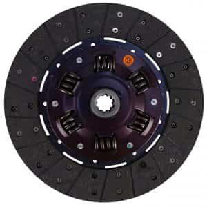 Kubota Tractor 11″ Transmission Disc, Woven, w/ 15/16″ 10 Spline Hub – New – K32530-14304N