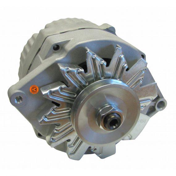Massey Ferguson Forklift Alternator – New, 12V, 63A, 10SI, Aftermarket Delco Remy – 89017781