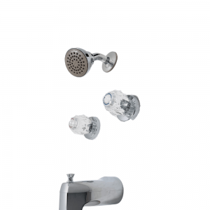 MOEN Chateau 2982EP 2-Handle 1-Spray Tub and Shower Faucet in Chrome (Valve Included)