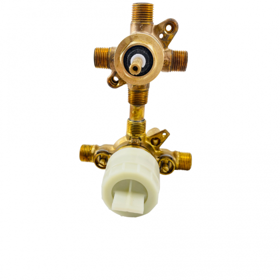 MOEN U362CIS M-CORE 3-Series 1/2 in. Mixing Valve with 3 or 6 Function Integrated Transfer Valve with CC/IPS Connections and Stops