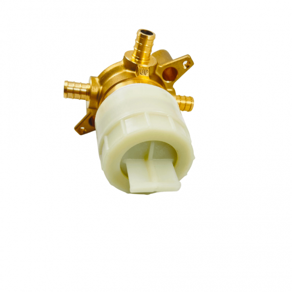 MOEN U130X M-CORE 3-Series 1/2 in. 3 Port Shower Mixing Valve with Crimp Ring PEX Connections